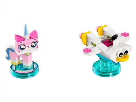 71231 LEGO® Dimensions® Fun Pack - The LEGO Movie Unikitty and Cloud Cuckoo Car