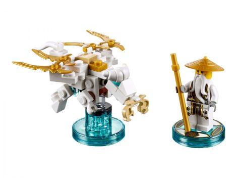 71234 LEGO® Dimensions® Fun Pack - Ninjago Sensei Wu és a  repülő fehér sárkány