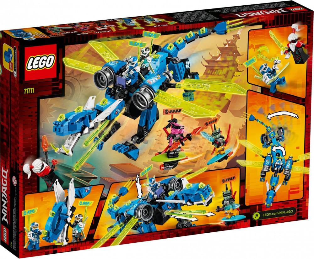71711 lego® ninjago® jay kibersárkánya  kockabolygó