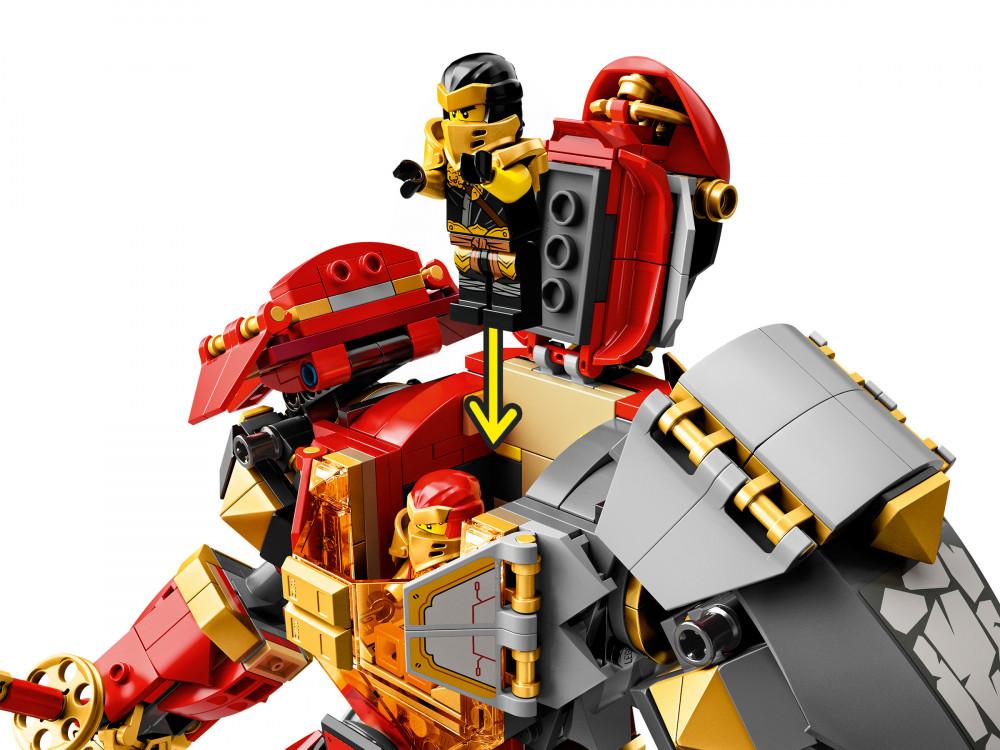 71720 LEGO® NINJAGO® Tűzkő robot - Kockabolygó