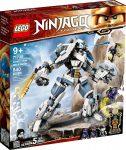 71738 LEGO® NINJAGO® Zane mechanikus Titánjának csatája