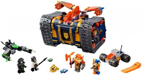 72006 LEGO® NEXO Knights™ Axl Guruló arzenálja