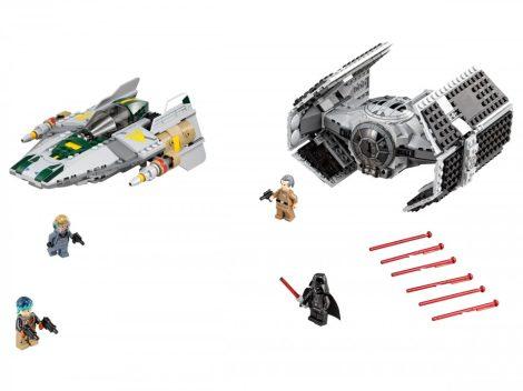 75150 LEGO® Star Wars™ Vader TIE vadászgépe az A-szárnyú csillaghajó ellen