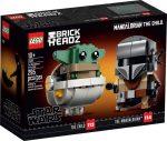 75317 LEGO® Brickheadz A Mandalori™ és a Gyermek
