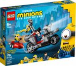 75549 LEGO® Minions Megállíthatatlan motoros üldözés