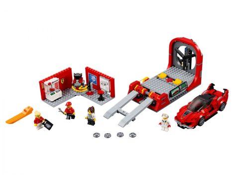 75882 LEGO® Speed Champions Ferrari FXX Kutató és fejlesztő központ