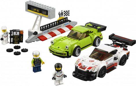 75888 LEGO® Speed Champions Porsche 911 RSR és 911 Turbo 3.0