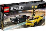 75893 LEGO® Speed Champions 2018 Dodge Challenger SRT Demon és 1970 Dodge Charger R/T