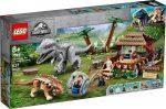 75941 LEGO® Jurassic World™ Indominus Rex™ az Ankylosaurus ellen