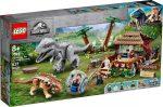 75941 LEGO® Jurassic World™ Indomunius Rex az Ankylosaurus ellen