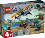 75942 LEGO® Jurassic World™ Velociraptor: Kétfedelű repülőgépes mentőakció