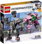 75973 LEGO® Overwatch® D.Va és Reinhardt