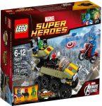 76017 LEGO® Marvel Super Heroes Amerika Kapitány Hydra ellen