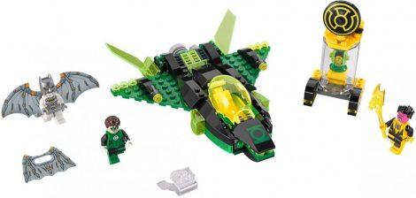 76025 LEGO® DC Comics™ Super Heroes Zöld Lámpás Sinestro ellen