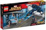 76032 LEGO® Marvel Super Heroes A Bosszúállók Quinjet City üldözés