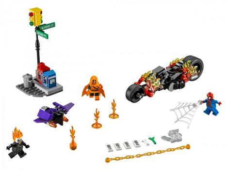 76058 LEGO® Marvel Super Heroes Pókember: összefogás Szellemlovassal