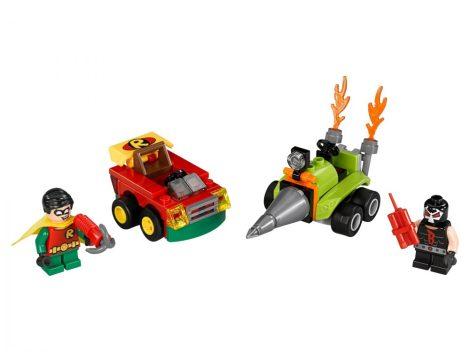 76062 LEGO® DC Comics™ Super Heroes Mini szuperhős szett: Robin™ vs. Bane™