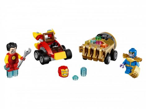 76072 LEGO® Super Heroes Mighty Micros: Vasember és Thanos összecsapása