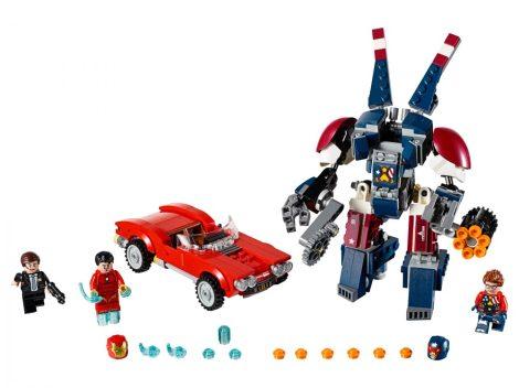76077 LEGO® Super Heroes Vasember: Detroit Steel támadása
