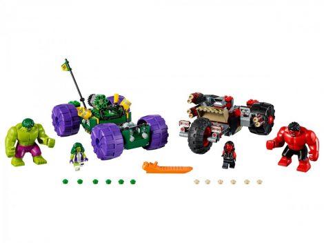 76078 LEGO® Super Heroes Hulk és Vörös Hulk összecsapása