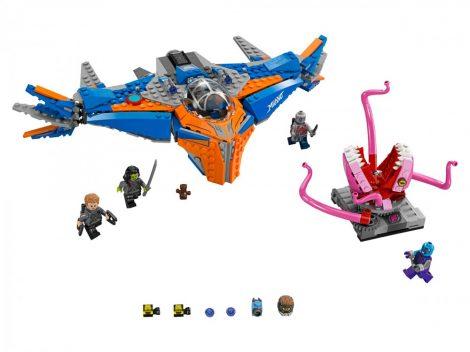 76081 LEGO® Super Heroes A Milano és Abilisk összecsapása