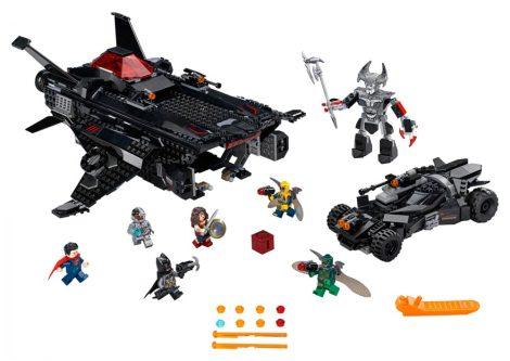 76087 LEGO® DC Comics™ Super Heroes Repülő róka: Batmobil légitámadás
