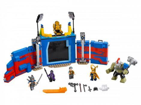 76088 LEGO® Super Heroes Thor és  Hulk: Összecsapás az arénában