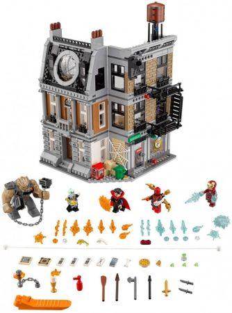 76108 LEGO® Marvel Super Heroes Leszámolás Sanctum Sanctorumnál