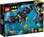 76116 LEGO® DC Comics Super Heroes Batman™ tengeralattjárója és a víz alatti ütközet