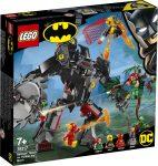 76117 LEGO® DC Super Heroes Batman™ robot vs. Méregcsók™ robot