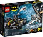 76118 LEGO® DC Comics™ Super Heroes Mr. Freeze™ Batmotoros csata