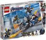 76123 LEGO® Marvel Super Heroes Amerika Kapitány Outrider támadás