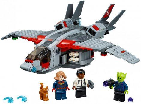 76127 LEGO® Marvel Super Heroes Marvel kapitány és a Skrull támadás