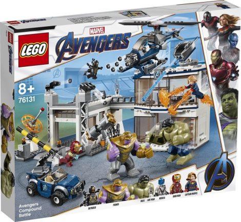76131 LEGO® Marvel Super Heroes Bosszúállók csatája