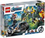76142 LEGO® Marvel Super Heroes Bosszúállók Speeder biciklis támadás