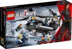 76162 LEGO® Marvel Super Heroes A Fekete Özvegy helikopteres üldözése