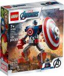 76168 LEGO® Super Heroes Amerika Kapitány páncélozott robotja