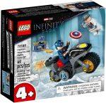 76189 LEGO® Super Heroes Amerika Kapitány és Hydra szemtől szemben