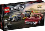 76903 LEGO® Speed Champions Chevrolet Corvette C8.R Race Car és 1968 Chevrolet Corvette