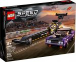 76904 LEGO® Speed Champions Mopar Dodge//SRT Top Fuel Dragster és 1970 Dodge Challenger T/A