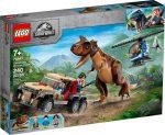 76941 LEGO® Jurassic World™ Carnotaurus dinoszaurusz üldözés
