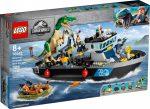 76942 LEGO® Jurassic World™ Baryonyx dinoszaurusz szökés csónakon