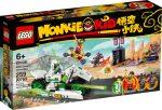 80006 LEGO® Monkie Kid Fehér Sárkány lovas motorja