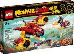 80008 LEGO® Monkie Kid Monkie Kid Felhőrepülője