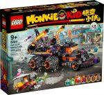 80011 LEGO® Monkie Kid Red Son pokoli kocsija