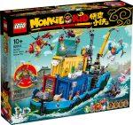 80013 LEGO® Monkie Kid Monkie Kid csapatának titkos főhadiszállása