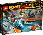 80014 LEGO® Monkie Kid Sandy motorcsónakja