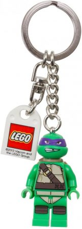 850646 LEGO® Teenage Mutant Ninja Turtles™ Donatello kulcstartó