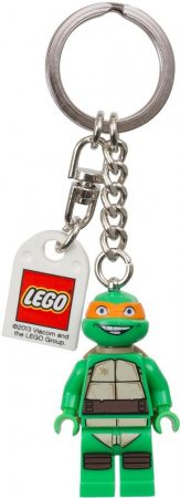 850653 LEGO® Teenage Mutant Ninja Turtles™ Michelangelo kulcstartó