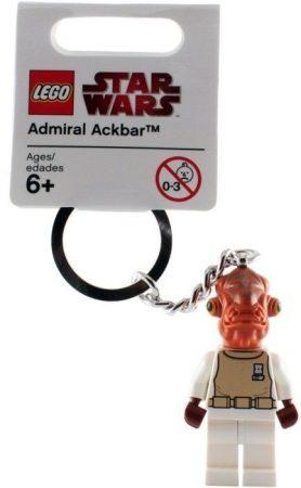 852836 LEGO® Star Wars™ Ackbar admirális kulcstartó
